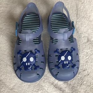 IGOR Blue Jelly Sandals Shoes Size Toddler 10